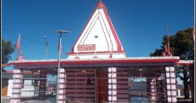 Kunjapuri temple sunrise